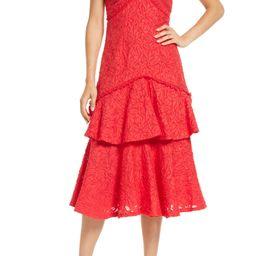Short Sleeve Ruffle Skirt Dress   Nordstrom