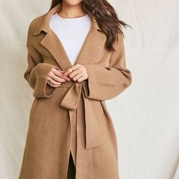 Belted Longline Cardigan Sweater | Forever 21 (US)