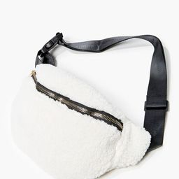 Faux Shearling Fanny Pack   Forever 21 (US)