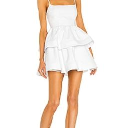 NBD Katerina Mini Dress in White from Revolve.com | Revolve Clothing (Global)