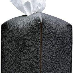 Carrotez Tissue Box Cover, [Refined] Modern PU Leather Square Tissue Box Holder - Decorative Hold... | Amazon (US)