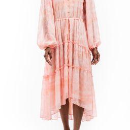 Flowy Eyelet Long Sleeve Maxi Dress   Nordstrom