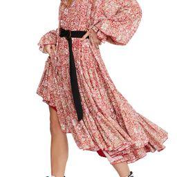 Feeling Groovy Long Sleeve Midi Dress   Nordstrom