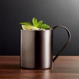 Moscow Mule Mug - Graphite + Reviews | Crate and Barrel | Crate & Barrel