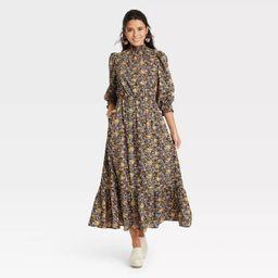 Women's Balloon Long Sleeve Dress - Universal Thread™ Floral | Target