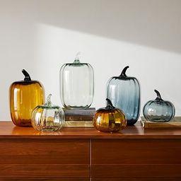 Glass Pumpkin Object | West Elm (US)