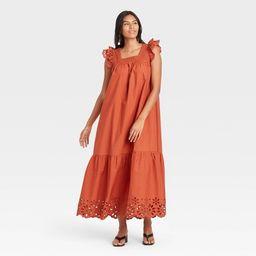 Women's Flutter Sleeveless Dress - A New Day™ | Target