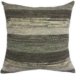 "Better Homes & Gardens Gray Stripe Decorative Throw Pillow, 20"" x 20"", Black/Grey/Tan Striped - W... | Walmart (US)"