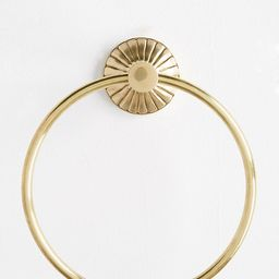 Fluted Towel Ring | Anthropologie (US)