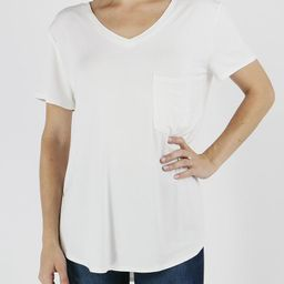 Perfect Pocket Tee in Solids   Grace and Lace