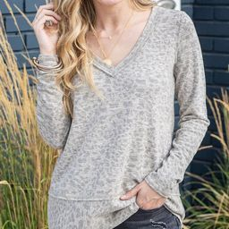 Barely Cheetah Top | Grace and Lace