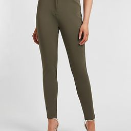 High Waisted Supersoft Double Knit Skinny Pant | Express