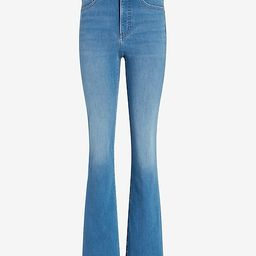 High Waisted Faded Bootcut Jeans | Express