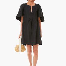 Black Finley Flutter Sleeve Dress   Tuckernuck (US)