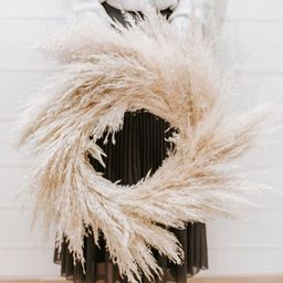 Boho Wreath, Dried Flowers Wreath, Pampas Grass, House Warming Gift   Etsy (US)
