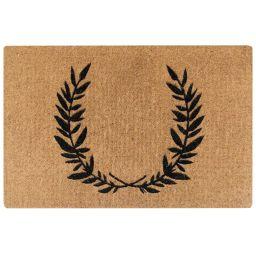 Simple Wreath Doormat   McGee & Co.