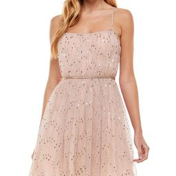 City Studios Juniors' Sequin Shirred-Bodice Dress & Reviews - Dresses - Juniors - Macy's | Macys (US)