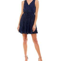 Speechless Juniors' Textured Fit & Flare Dress & Reviews - Dresses - Juniors - Macy's | Macys (US)