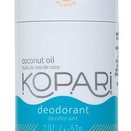 Kopari Aluminum-Free Deodorant Beach | Non-Toxic, Paraben Free, Gluten Free & Cruelty Free Men'... | Amazon (US)