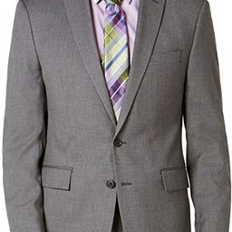 Ryan Seacrest Distinction Mens Blazer Short Stretch Gray 38 | Amazon (US)