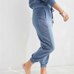 Aerie Luxe Inside Out High Waisted Cropped Jogger | American Eagle Outfitters (US & CA)