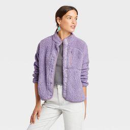 Women's Faux Fur Sherpa Jacket - Universal Thread™ | Target
