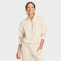 Women's Quarter Zip Sweatshirt - Universal Thread™ | Target