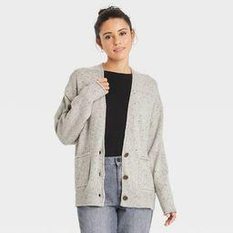 Women's Button-Front Grandpa Cardigan - Universal Thread™ | Target