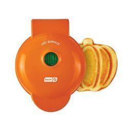Dash Mini Pumpkin Shape Waffle Maker Orange   Walmart (US)