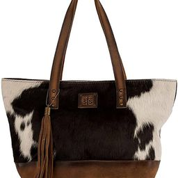STS Ranchwear Women's Western Classic Cowhide Tote Handbag, Multicolored   Amazon (US)