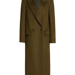 Jaka Long Virgin Wool Coat   Saks Fifth Avenue