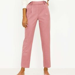 Pull On Tapered Pants in Brushed Flannel | LOFT