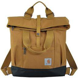 Carhartt Legacy Women's Hybrid Convertible Backpack Tote Bag, Carhartt Brown   Amazon (US)