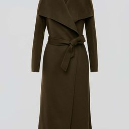 MAI double-face wool coat with waterfall collar   MACKAGE   Mackage