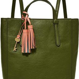 Fossil Women's Camilla Leather Convertible Small Backpack Purse Handbag   Amazon (US)