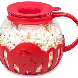 Ecolution Original Microwave Micro-Pop Popcorn Popper Borosilicate Glass, 3-in-1 Silicone Lid, Di... | Amazon (US)