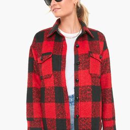 Buffalo Check Austen Shirt Jacket   Tuckernuck (US)