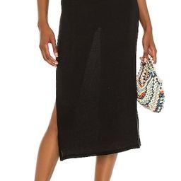 Cutout Midi Skirt in Black   Revolve Clothing (Global)