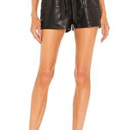 BLANKNYC X REVOLVE Paperbag Waist Short in Obsidian from Revolve.com   Revolve Clothing (Global)