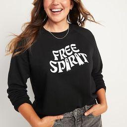 Vintage Crew-Neck Sweatshirt for Women | Old Navy (US)