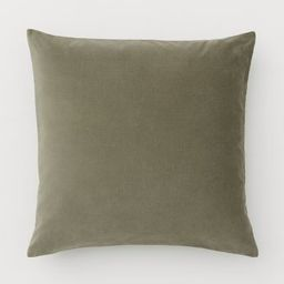 Cotton Velvet Cushion Cover | H&M (US)