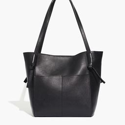 The Knotted Tote Bag   Madewell