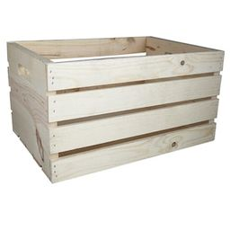 """18"""" Wooden Crate by ArtMinds®   Michaels Stores"""