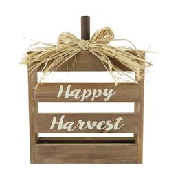 """11.5"""" Happy Harvest Crate Tabletop Sign by Ashland®   Michaels Stores"""