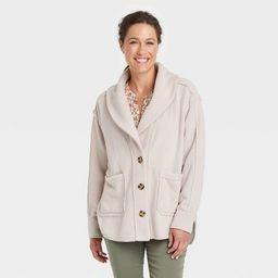 Women's Button-Front Jacket - Knox Rose™ Cream | Target