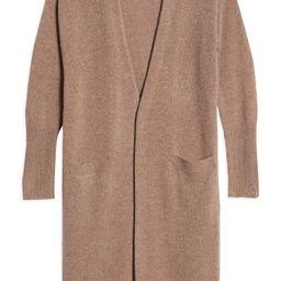 Longline Wool & Cashmere Cardigan   Nordstrom