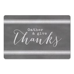 Gather & Give Thanks Floor Mat | Michaels Stores
