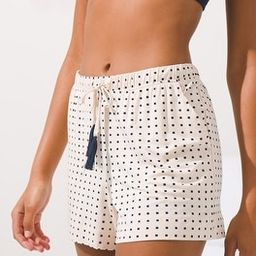 Soma Tassel-Tie Pajama Shorts | Soma Intimates