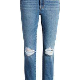 Good Legs Ripped High Waist Ankle Skinny Cigarette Jeans   Nordstrom