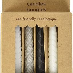 Papyrus Eco-Friendly Birthday Candles, Black & White with Patterns (12-Count) | Amazon (US)